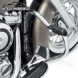 Mustache Engine Guard Bar For 2018-2021 Harley Softail Deluxe Breakout Flhc Fxlr