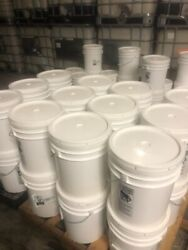 1 Pallet Of 24 5-gallon Buckets Of White Granulated Sugar - 1200 Lbs