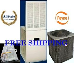 3.5 Ton R410a 14seer Mobile Home System Condenser And 15kw Electric Furnace And Coil