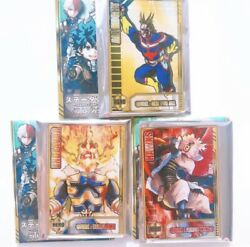 My Hero Academia All Might Hawks Endeavor Status Card Collection Set Japan New