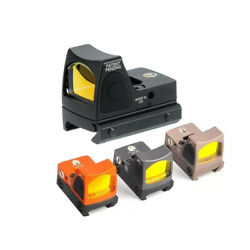 Tactical Rmr Mini Red Dot Reflex Optic Holographic Sight Fit 20mm
