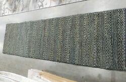 Charcoal 2'-3 X 8' Pulled Threads Rug Reduced Price 1172616741 Nf212c-28