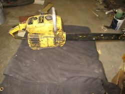 Mcculloch Pro Mac 10 10 Chainsaw For Parts Only