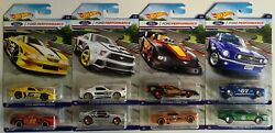 Hot Wheels Ford Performance Complete Car Set - Set Of 8