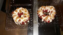 Baby Bundt cakes X 2 Homemade from scratch