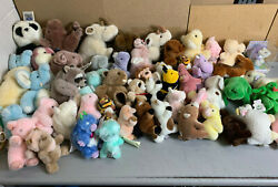 Lot Of 55 Gund Stuffed Animal Plush Collection - Vintage 1980and039s And 1990and039s Era