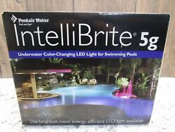 Pentair Intellibrite 5g Underwater Color-changing Led Light For Swimming Pools