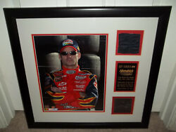 Nascar Jeff Gordon Framed Race-used Tire And Suit Limited 187/324 Mounted Memories