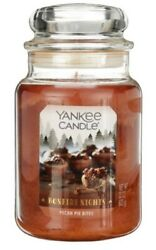 Yankee Candle PECAN PIE BITES Large Jar 22 Oz NEW