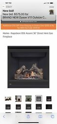 Napoleon Ascent 36 B36ntre-1 Gas Fireplace - New 18,000 Btu 3 Available