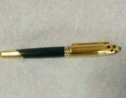 Rare New Must Pan There Blue Gold Fountain Pen 1990's