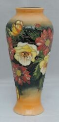 Moorcroft Victoriana Vase - Signed In Brown By Emma Bossons - Moorcroft Colle...