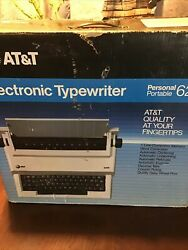 New Old Stock Atandt 6200 Electronic Personal Portable Typewriter Brand New In Box