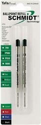 Schmidt Ballpoint Pen Refills For Waterford, Parker, Visconti, Made In Germany