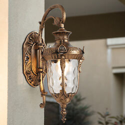 Retro Exterior Wall Lights Fixtures Outdoor Lantern Sconce Porch Lamps Brown Usa