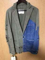 Greg Lauren Authentic Remake Jacket Size 1 New Unused With Tag From Japan