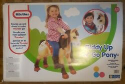 31 Little Tikes Giddy Up N Go Plush Pony Horse Ride On Toy For Toddler Child