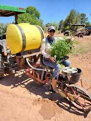 Mechanical Transplanter 1 Row Hemp Planter Produce Planter For Sale By Owner
