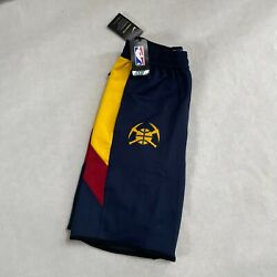 Nwt Nike Nba Denver Nuggets Team Player Issue Practice Flex Shorts Large Tall