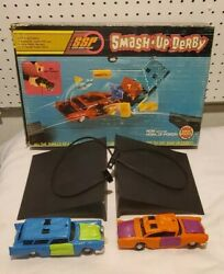 Smash Up Derby Kenner Ssp 1972 With Sonic Sound