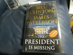 Bill Clinton James Patterson Signed The President Is Missing Book Jsa Cert