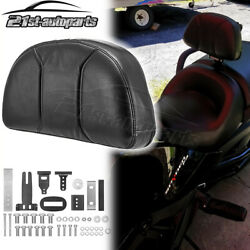 1 - 3 Adjustable Driver Backrest Pad For 2015-2021 Can Am Spyder F3 F3-s F3-t