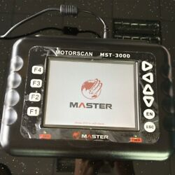 2021 Asia Version Heavy Duty Motorcycle Scanner Mst-3000 Motor Diagnostic Tool