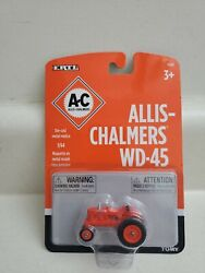 Allis-chalmers Ertl Wd-45 Toy Tractor New Sealed 1/64 Scale Die Cast 164 Wd45