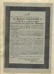 Ww1 Propaganda Aircraft Leaflet Trenches 1917 Physiological War Sa Majeste