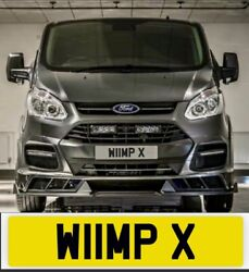 Private Number Plate Wimp Funny Strong Truck Boxing Fighter Karate W11 Mpx Punch