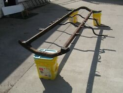 Model T Ford Frame 1926 And/or 1927 With Running Board And Other Brackets.