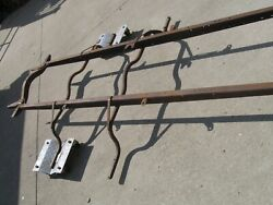 Model T Ford Frame 1921 Thru 1925 With Running Board And Other Brackets.