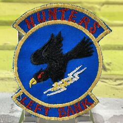 Hunters Left Bank Vietnam Theatre In Country Made Patch