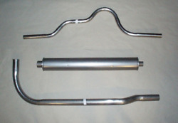 1928-1929 Buick Standard Six Exhaust System 6 Cyl. Aluminized Series 115 And116