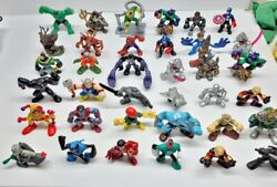 Lot Of 36 Playskool And Squad Heroes Marvel Super Hero Adventures Action Figures