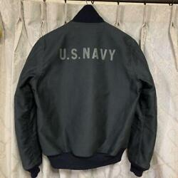 Real Mccoy's Authentic Deck Hook Jacket Us.navy Mj17107 Size 40 Used From Japan
