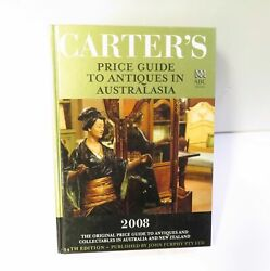 .carter's Price Guide To Antiques And Collectables In Australasia 2008 Ref Book