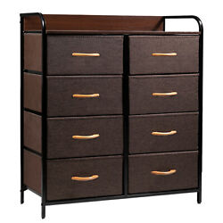 Dresser 8 Drawer Storage Chest Organizer Closet Cabinet Home Bedroom Furniture