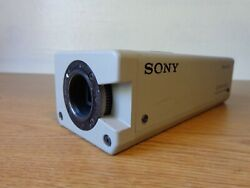Sony Dxc-151a Color Video Camera Ccd-iris/rgb Untested