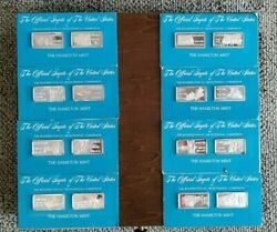 Hamilton Mint Official Ingots Of The Usa Complete Set