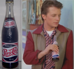 Back To The Future 1950and039s Pepsi Cola Bottle Replica Movie Prop