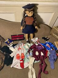 American Girl Doll Molly And Accessories