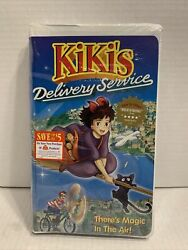 Kikis Delivery Service Vhs Sealed Rare Anime Movie Clamshell