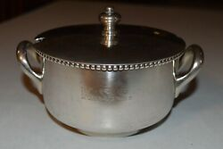 Great Northern Railroad Dining Silver Soup Tureen With Lid King Street Station