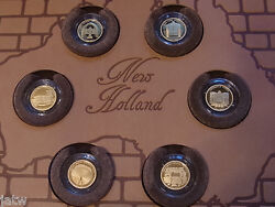 2011 Gold 1/25 Oz 5 - Convict Heritage Sites. 6 Coin Set In Leatherette Folio