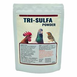 Tri Sulfa Powder for Cage amp; Aviary Birds Pigeons amp; Backyard Chickens