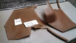 1968 - 1972 Oem Gm Chevelle Gto Buick Olds A Body Kick Panel Ac-tan 7004