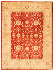 Hand-knotted Carpet 6and0392 X 8and0390 Traditional Oriental Wool Area Rug