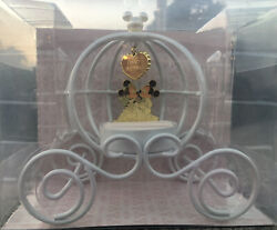 Tokyo Disney Mickey And Minnie Limited Edition Wedding Carriage Pillow Ring Holder