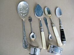 Antique Silver Plated Items X 8